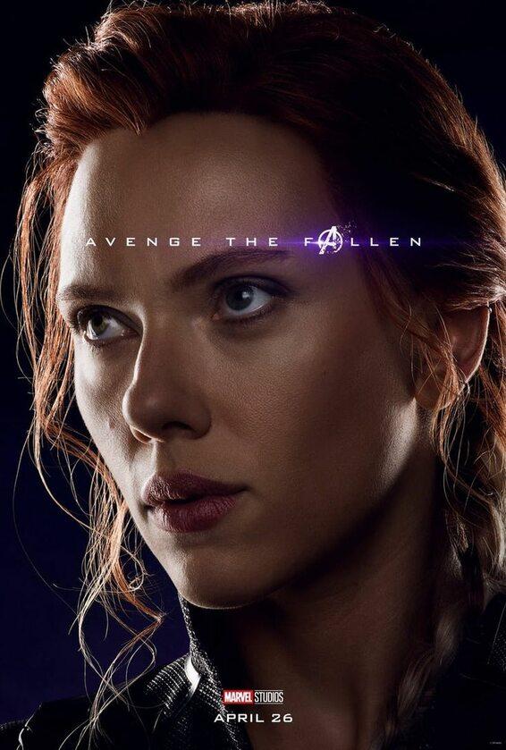 Czarna Wdowa - Scarlett Johansson
