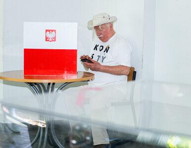 """""""Tak głosowałem"""". Lech Wałęsa zamieścił na Facebooku zdjęcie karty do..."""