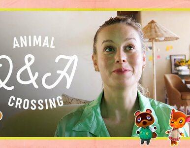 Brie Larson pokazała swoją wyspę w Animal Crossing. Odpowiadała też na...