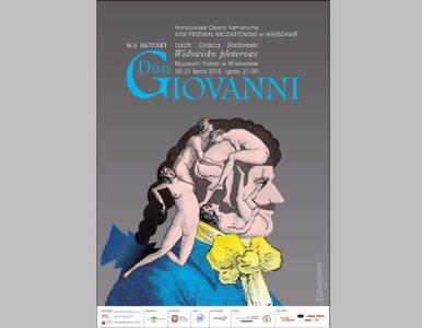 """""""Don Giovanni"""" będzie uwodził na dziedzińcu Pałacu w Wilanowie"""