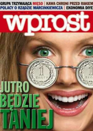 Okładka tygodnika Wprost nr 47/2005 (1199)