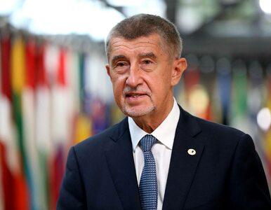 """Czeski premier straci władzę przez epidemię? """"Nie ma pewności czy dotrwa..."""