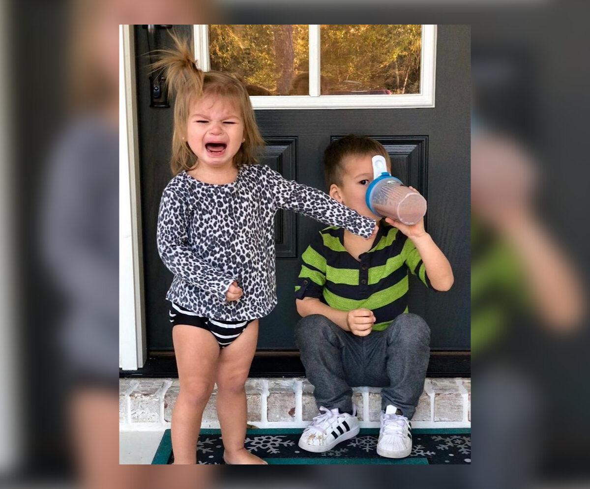 Sia Cooper z dziećmi