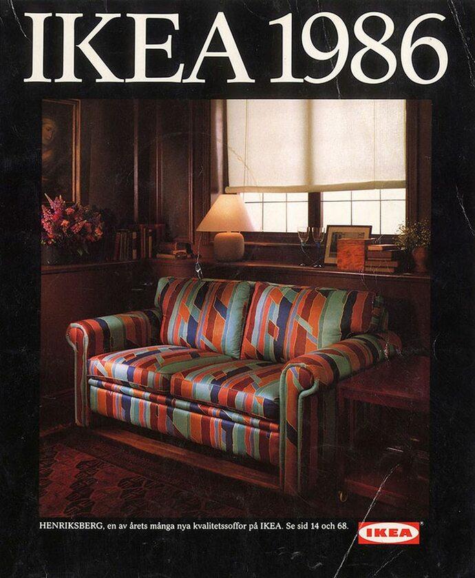 Okładka katalogu IKEA z 1986 roku