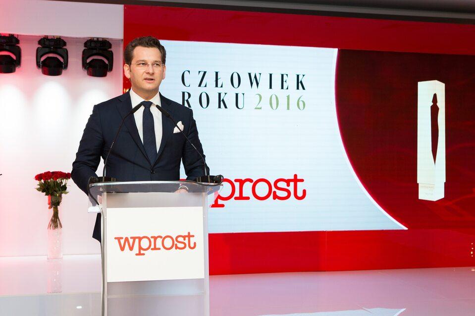 """Gala Człowieka Roku 2016tygodnika """"Wprost"""""""