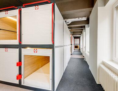 Hotel kapsułowy wzorem z Japonii otwarty w centrum Warszawy