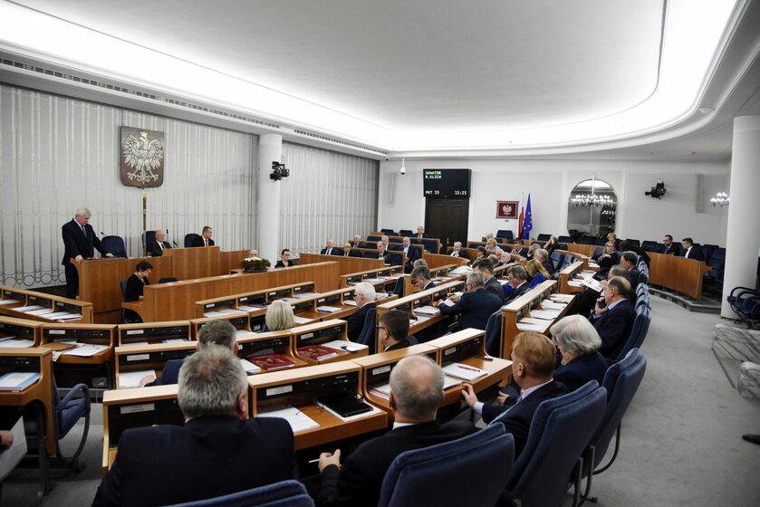 Posiedzenie Senatu, zdjęcie ilustracyjne