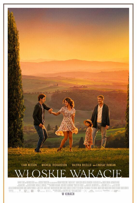 """Plakat z filmu """"Włoskie wakacje"""""""