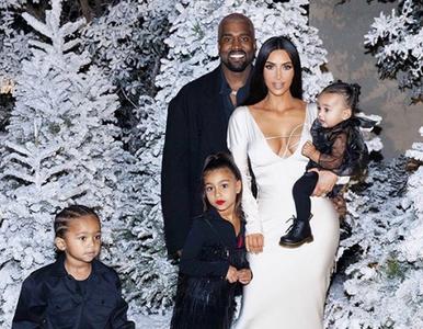5-letnia córka Kim Kardashian pomalowana do zdjęcia. Burza w komentarzach