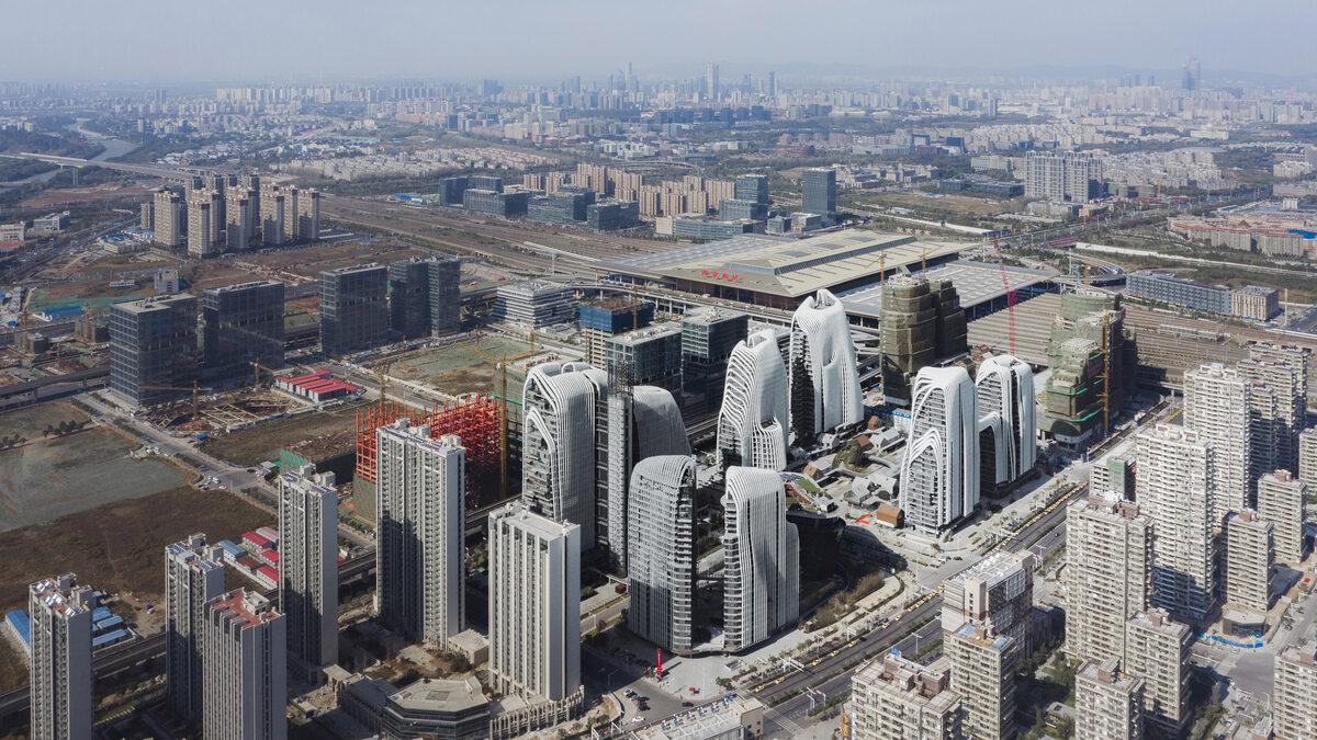 Nankin Nowe centrum Nankin