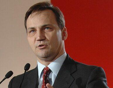 Sikorski kandydatem na szefa dyplomacji UE. Tusk: Jest w sam raz