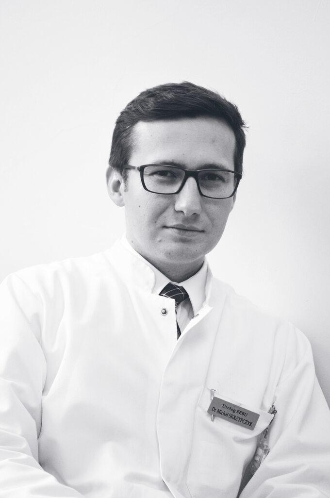 Dr Michał Skrzypczyk Urolog  zkliniki Urologii CMKT wWarszawie