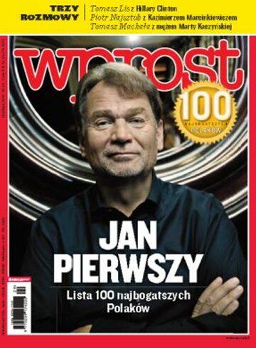 Okładka tygodnika Wprost nr 29/2010 (1432)