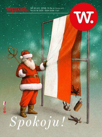 Okładka tygodnika Wprost nr 47/2020 (1963)