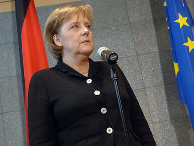 Merkel: Ukraina musi sama zdecydować o swoim losie