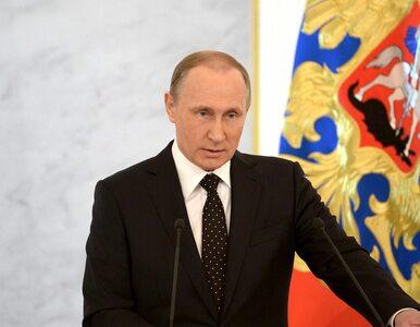 """Putin zapowiedział """"demokratyczne wybory"""". """"Prezydenta wskażą Rosjanie"""""""