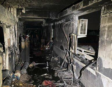 Wybuch butli z tlenem i pożar w szpitalu w Bagdadzie. Już kilkadziesiąt...
