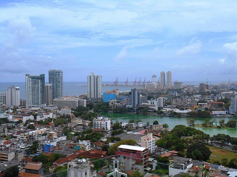 Kolombo - stolica Sri Lanki