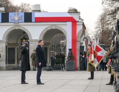 Na Placu Piłsudskiego odsłonięto tablicę poświęconą Żołnierzom Wyklętym