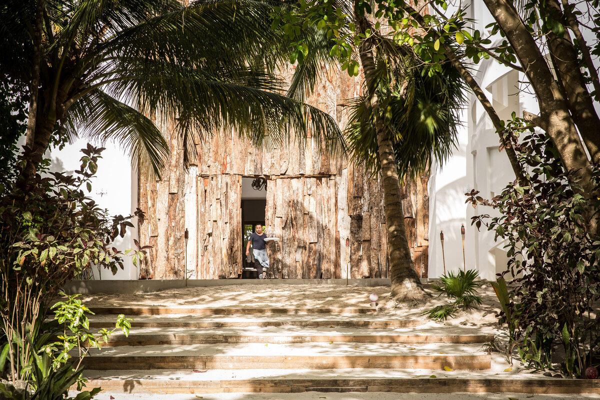 Hotel Casa Malca Hotel Casa Malca w dawnej willi Pablo Escobara