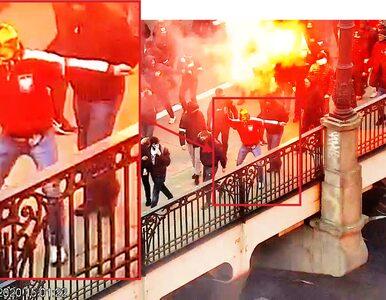 Podpalenie podczas Marszu Niepodległości. Policja publikuje wizerunki i...