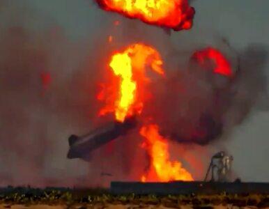 Widowiskowa eksplozja Starshipa. Elon Musk komentuje w swoim stylu