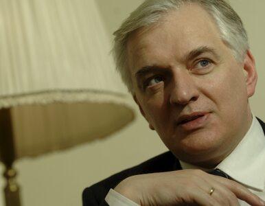 Gowin: mam garnitur za 500 zł. Kupiłem w outlecie