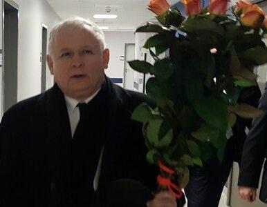 Jarosław Kaczyński odwiedził premier Beatę Szydło w szpitalu. Przyniósł...