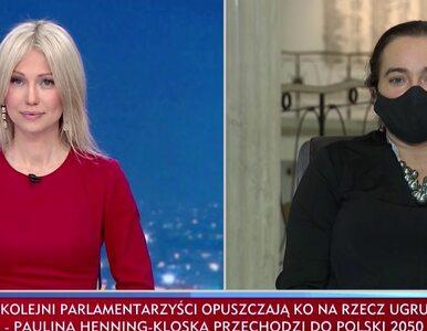 """Spięcie Magdaleny Ogórek i posłanki Lewicy w TVP Info. """"Wzorem pewnej..."""