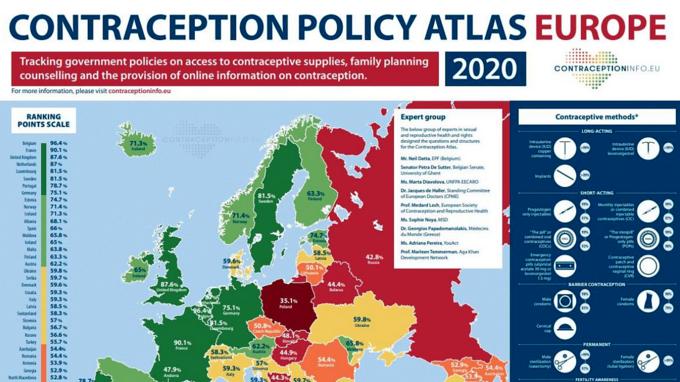 European Contraception Policy Atlas Europe