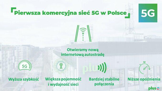 Pierwsza komercyjna sieć 5G wPolsce