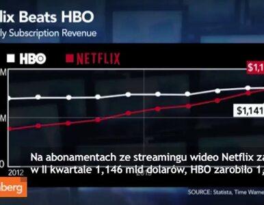 Netflix zarobił na abonamentach więcej niż HBO