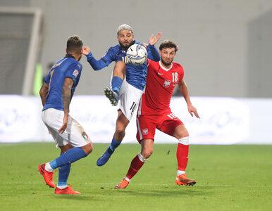 Polacy przegrali 0:2 z Włochami. Góralski po 31 minutach gry z czerwoną...