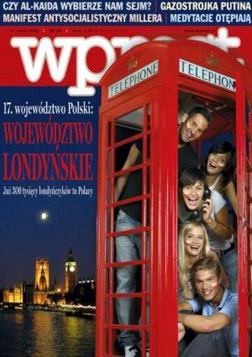 Okładka tygodnika Wprost nr 30/2005 (1182)