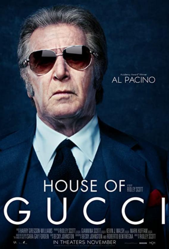 "Plakat filmu ""House of Gucci"""