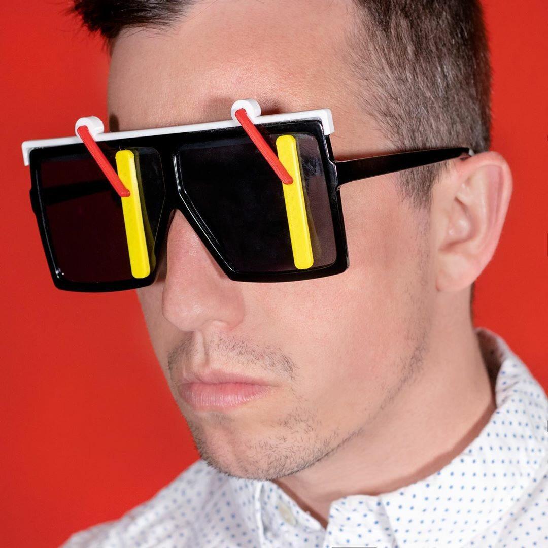 Okulary z wycieraczkami