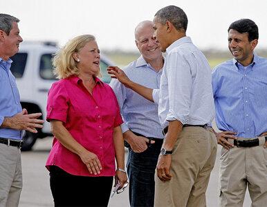 Obama obiecuje pomoc ofiarom Isaaca