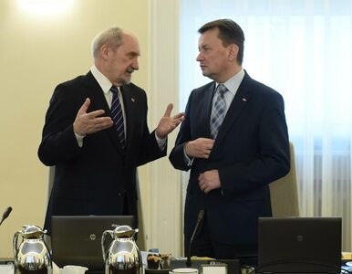 RMF FM: Konflikt na linii Błaszczak-Macierewicz. Chodzi o dymisję