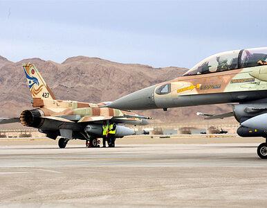 Izrael z powietrza zaatakował Strefę Gazy