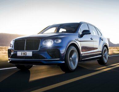 Bentley przechodzi wyłącznie na elektryki. Ma na to 10 lat