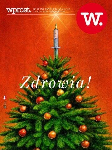 Okładka tygodnika Wprost nr 48/2020 (1964)