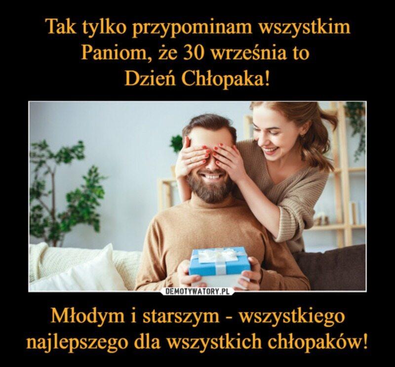Mem z okazji Dnia Chłopaka