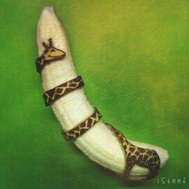 Z obierania banana też można stworzyć sztukę. Niesamowite prace