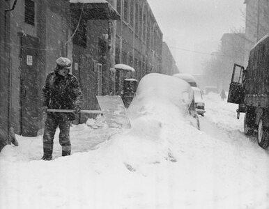 Kraj sparaliżowany przez śnieg i czołgi w walce z kataklizmem. Tak...