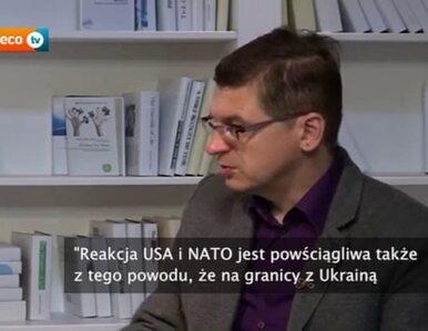 """Ukraina w NATO? """"To może wywołać agresję ze strony Rosji"""""""