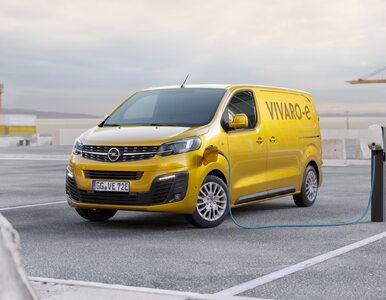 Eko-dostawczak z dofinansowaniem: nowy Opel Vivaro-e. Ile kosztuje?