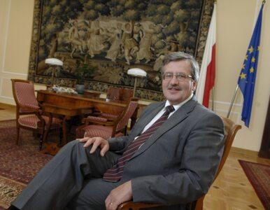 Polacy dobrze o Komorowskim, źle o Sejmie