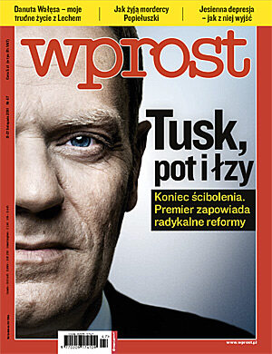 Okładka tygodnika Wprost nr 47/2011 (1502)