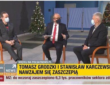 Kraska i Kosiniak-Kamysz zaszczepili się przed kamerami. Podobnie...