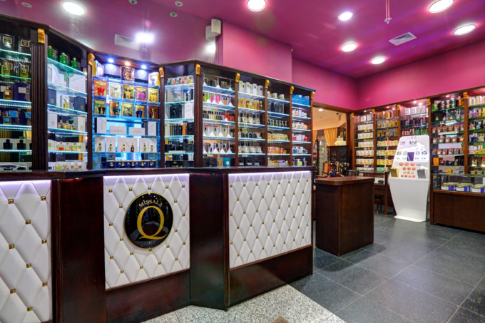 Perfumeria Quality wwarszawskim hotelu Marriott